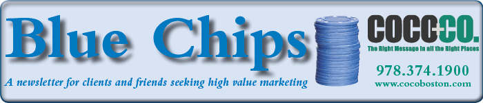 Blue Chips Nameplate